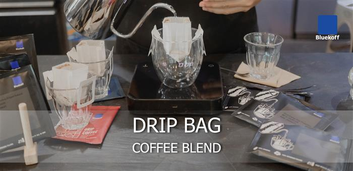 Drip bag coffee blend